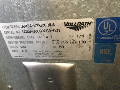 Volrath Drop In Refrigeration Box