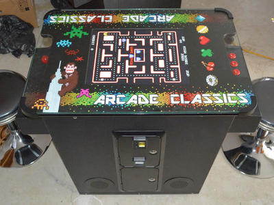 Multi Coctail Table Arcade Game  1 yr  Warranty