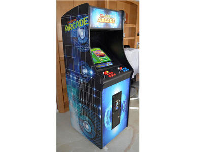 Classic Arcade Upright Cabinet 815 games Installed
