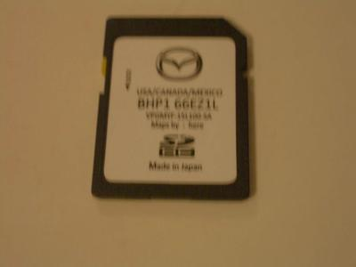 Mazda 2020 Navigation SD card/update for most newer Mazda's