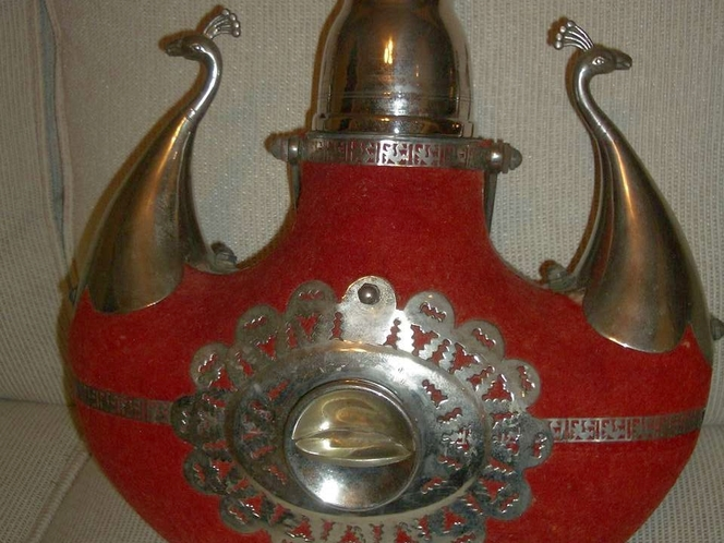 ANTIQUE ORNATE BRASS DECANTER for sale in Holladay , UT