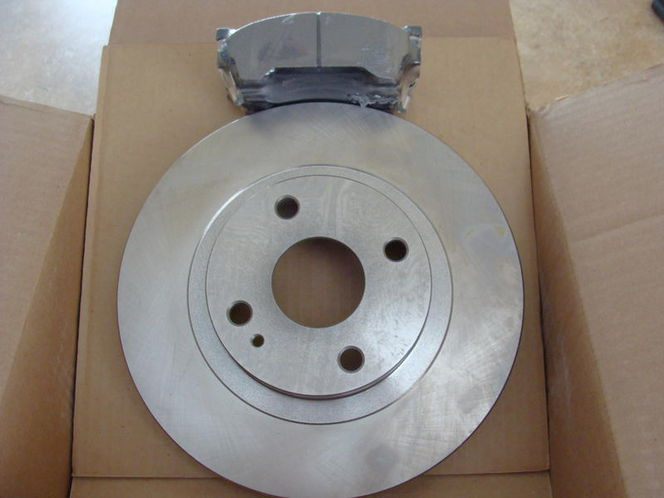 99-03 MAZDA PROTEGE NEW FRONT BRAKE ROTORS AND PAD for sale in Midvale , UT
