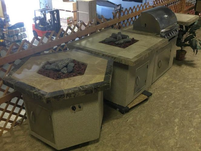 CLEARANCE Cal Flame BBQ Islands & Firepits for sale in Springville , UT