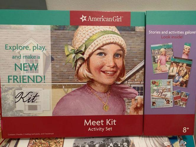 American Doll meet Kit Book for sale in Draper , UT