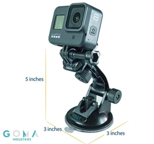 Suction Cup Car Mount Gopro 7-8-9 for sale in Draper , UT