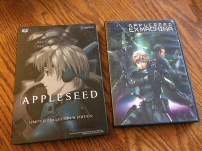"CGI Anime movies - ""Appleseed"" 1 & 2"