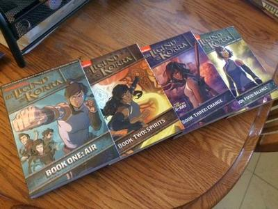 The Legend of Korra complete DVD sets