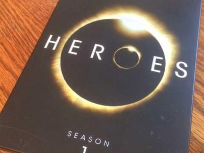 """Heroes"" season 1 DVD boxed set"