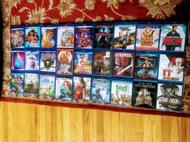 Lot Of 27 Blu-ray Discs,  Action And Kids Movies for sale in Garland , UT