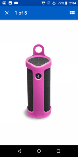 Like New Amazon Tap Silicone Sling Cover for sale in Kaysville , UT