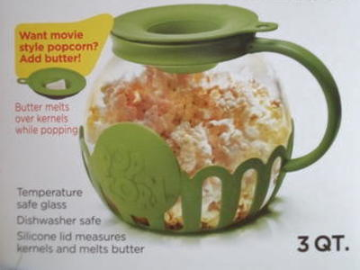 Like New Ecolution Microwave Popcorn Popper