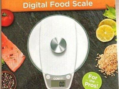 New Conair Digital Food Scale