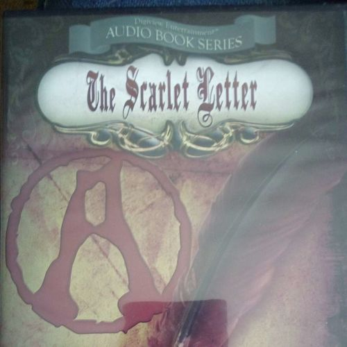 Audiobook The Scarlet letter by Nathaniel Hawthorn for sale in Kaysville , UT