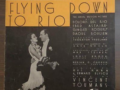 1933 Fred Astaire & Ginger Rogers Sheet Music