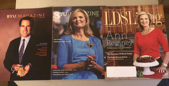 Mitt Romney BYU Magazine LDS Living Magazine for sale in Orem , UT