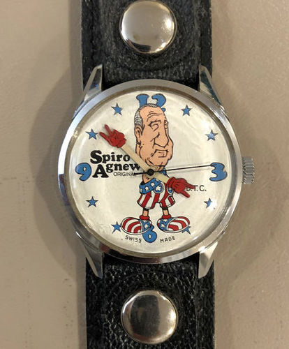 1970 Spiro Agnew Watch, Swiss Made, Not Working for sale in Orem , UT