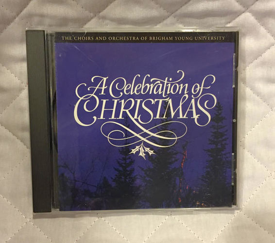BYU Choirs A Celebration of Christmas CD 1995 for sale in Orem , UT