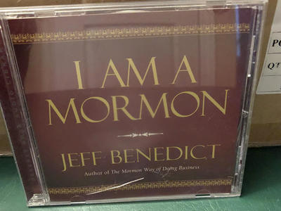 CD - I Am A Mormon, talk on CD by Jeff Benedict