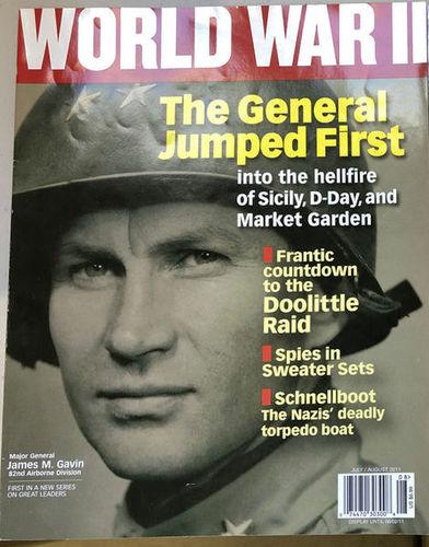World War II Magazines July/August 2011 for sale in Orem , UT