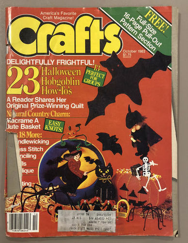 October 1983 Halloween Issue of Crafts Magazine for sale in Orem , UT