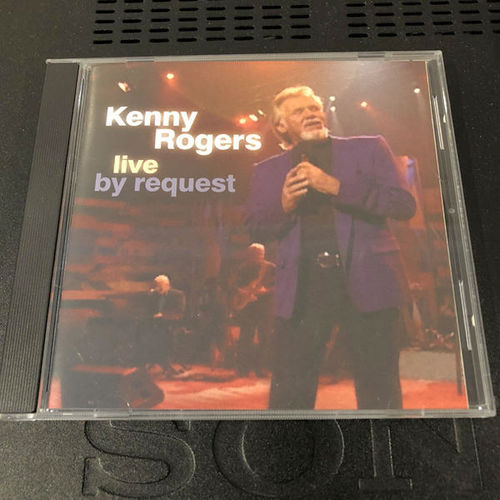 Kenny Rogers Live By Request CD for sale in Orem , UT