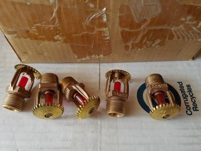 Rasco Fire sprinkler heads, qty 25. F1 LOrifice for sale in Sandy , UT