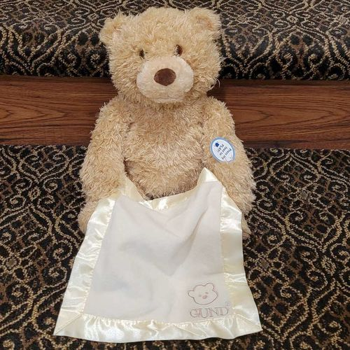 Gund peek a boo bear new for sale in Salt Lake City , UT