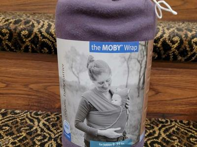 Moby Wrap Organic Baby Carrier NEW