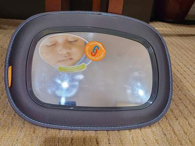 Brica Baby Car Backseat Mirror New