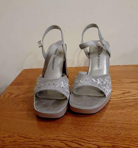 Women's Silver Dress Pumps for sale in South Jordan , UT