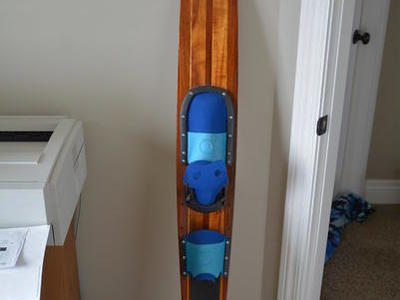 Vintage Western Wood Waterski 65