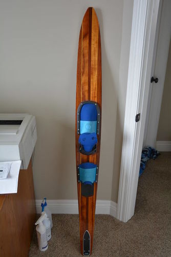 Vintage Western Wood Waterski 65 for sale in West Haven , UT