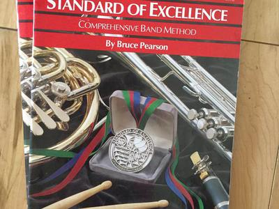 Alto saxophone Standard of Excellence books
