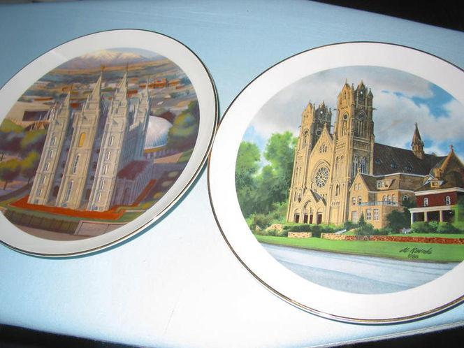 Al Rounds Comemorative Plates for sale in Salt Lake City , UT