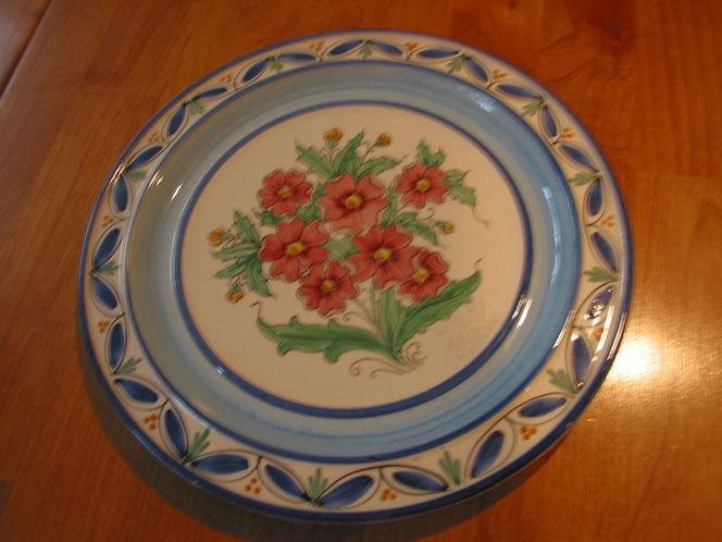 Italian Potter Plate - 8 inches diameter. for sale in Salt Lake City , UT