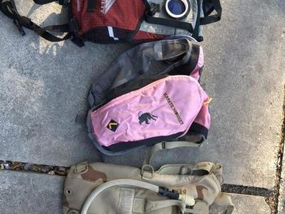 3Hydration Packs: Karate Monkey, Kelty, Camelbak