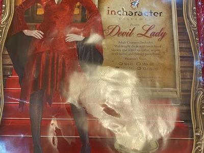 Incharacter Devil Lady Halloween Costume