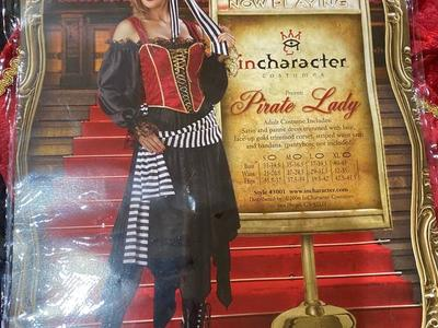Incharacter Pirate Lady Halloween Costume