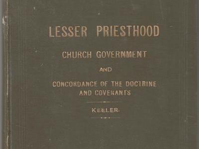 The Lesser Priesthood, Church Government