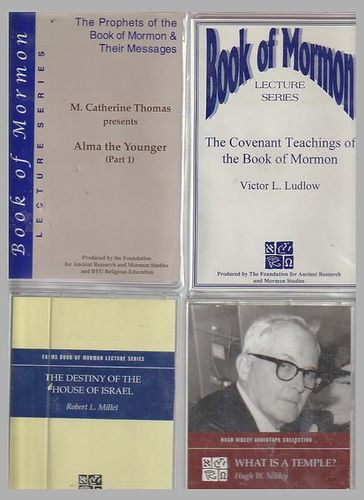 What is a Temple by Hugh Nibley,cassette for sale in Honeyville , UT