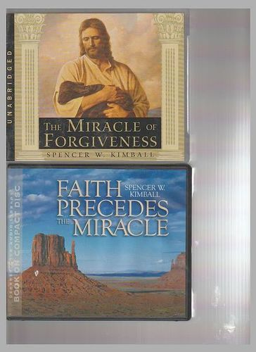 The Miracle of Forgiveness  on CD Plus Faith P for sale in Honeyville , UT