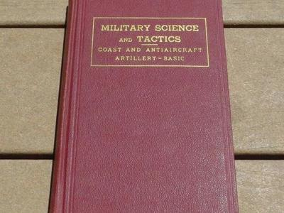 Military Science and Tactics:Coast Artillery-Basic