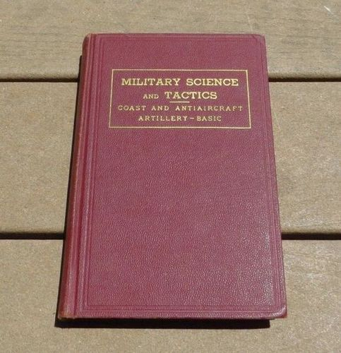 Military Science and Tactics:Coast Artillery-Basic for sale in Honeyville , UT