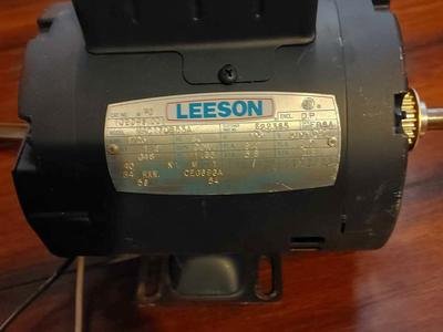 leeson electric motors1/4 HP