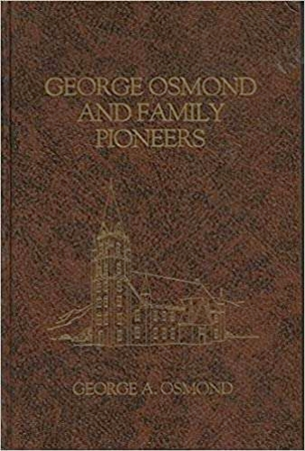 George Osmond and family pioneers for sale in Honeyville , UT
