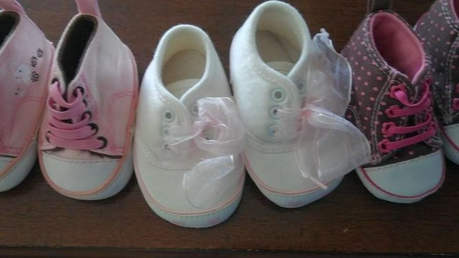 Baby girl shoes for sale in Provo , UT