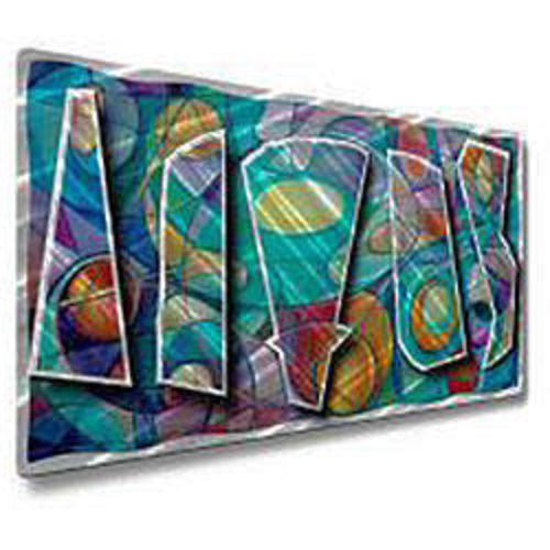 Ash Carl 'Dancing Dynamics' Metal Wall Art for sale in Orem , UT