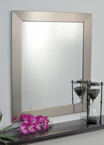 BrandtWorks 32inx36in Silver Modern Wall Mirror for sale in Orem , UT