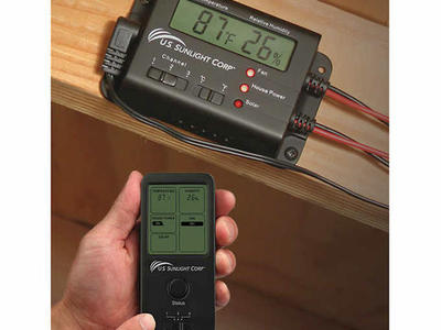 Solar Controller for Solar Attic Fan 944696