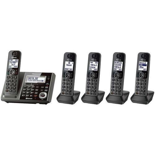 Panasonic 5 HS Link2Cell KX-TG585SK Cordless Phone for sale in Orem , UT